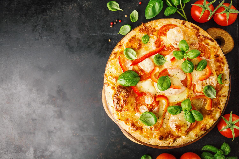 vegetarian pizza oven
