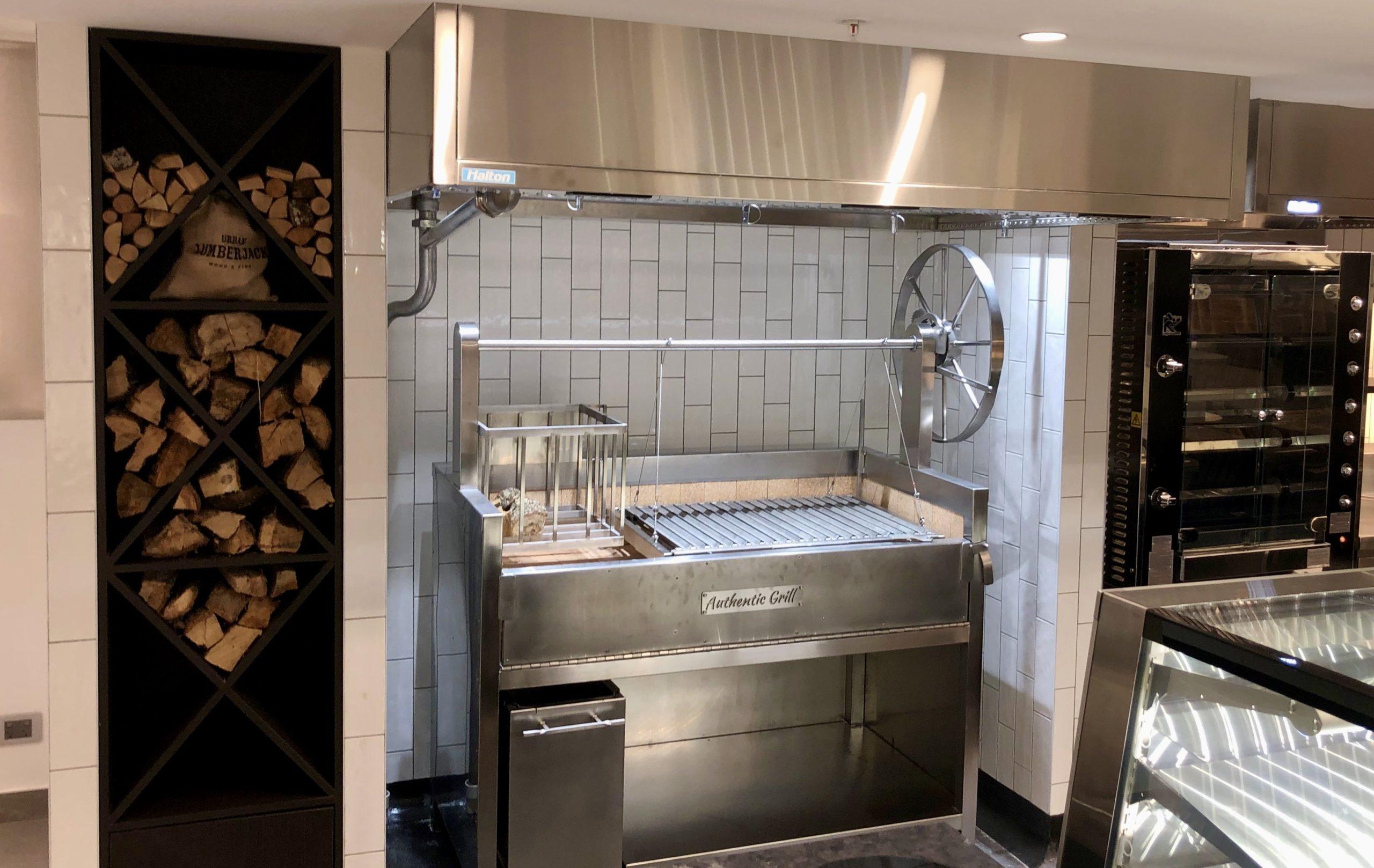 Argentinian Asado grill