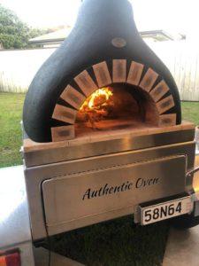 Rental pizza oven