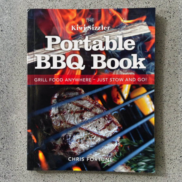The Kiwi Sizzler Portable BBQ Book Chris Fortune
